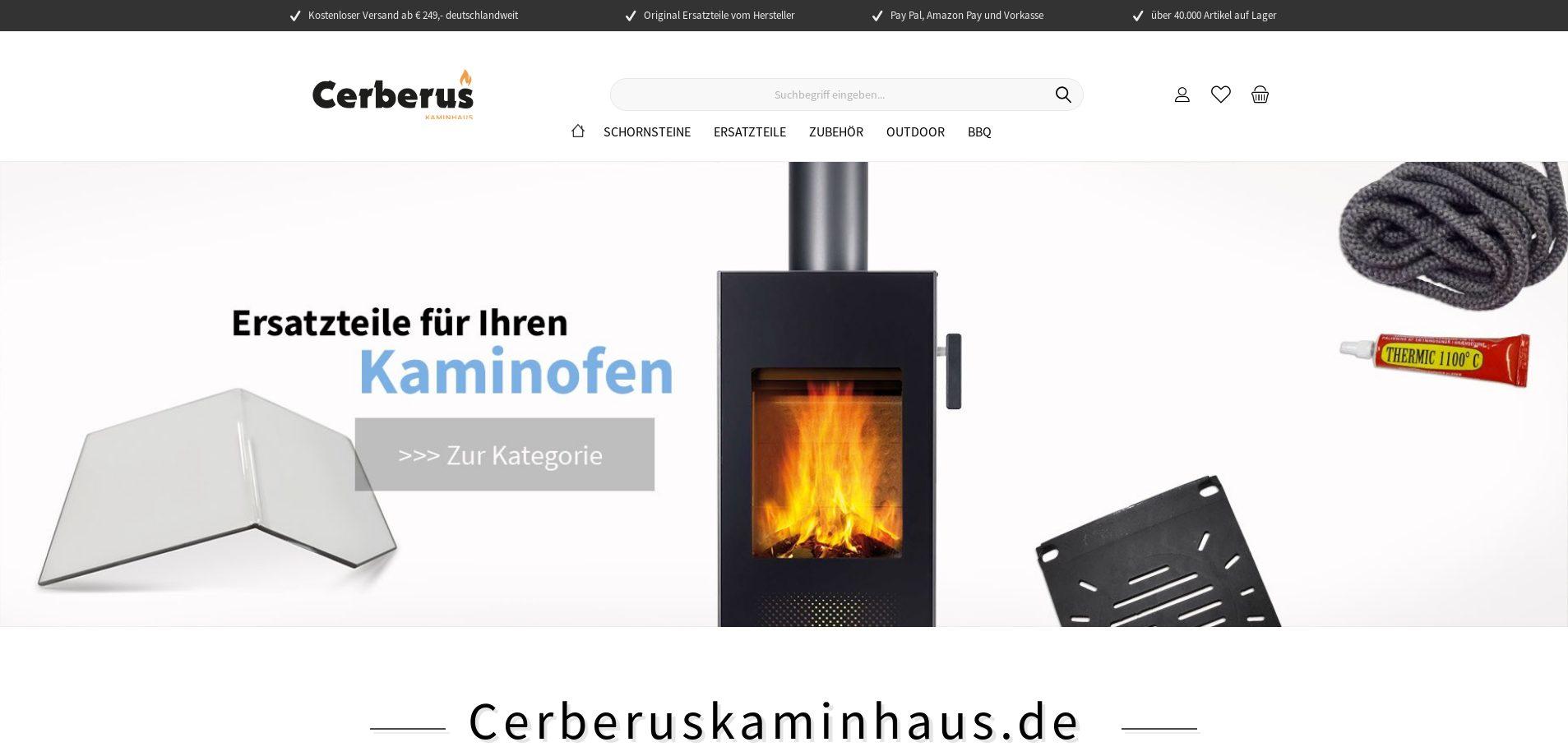 Cerberus Kaminhaus
